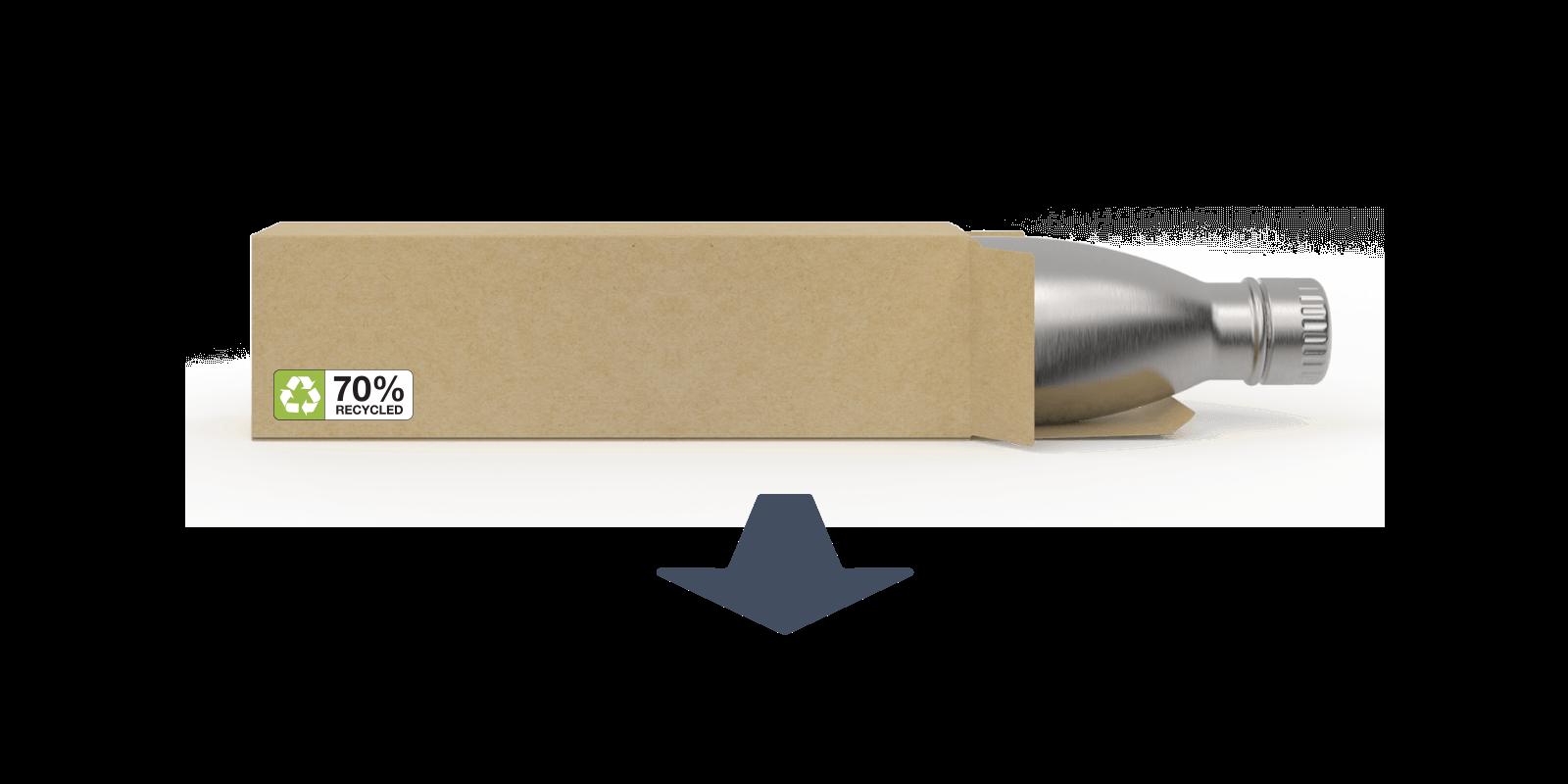 Wie wir unsere Metall-Flaschen herstellen - Step10