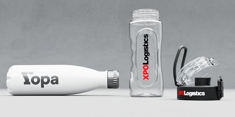 Flasky - Wie bringen wir Ihr Logo an?