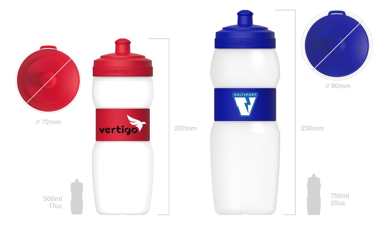 Fit - Trinkflasche mit Namen