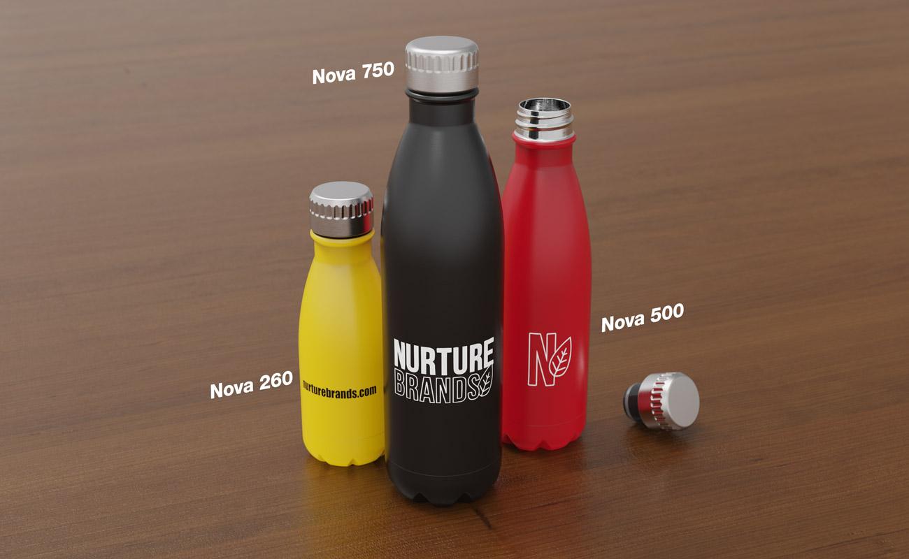Nova - Trinkflaschen Bedrucken