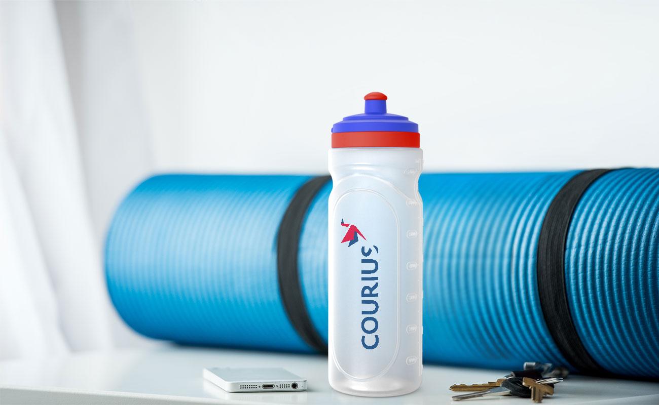 Refresh - Flasche Bedrucken