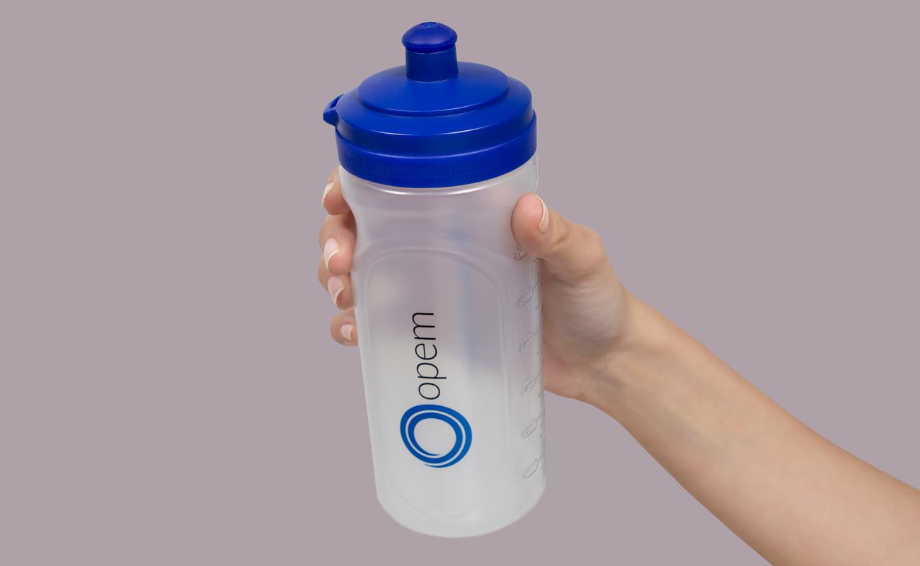 Refresh - Trinkflasche mit Namen