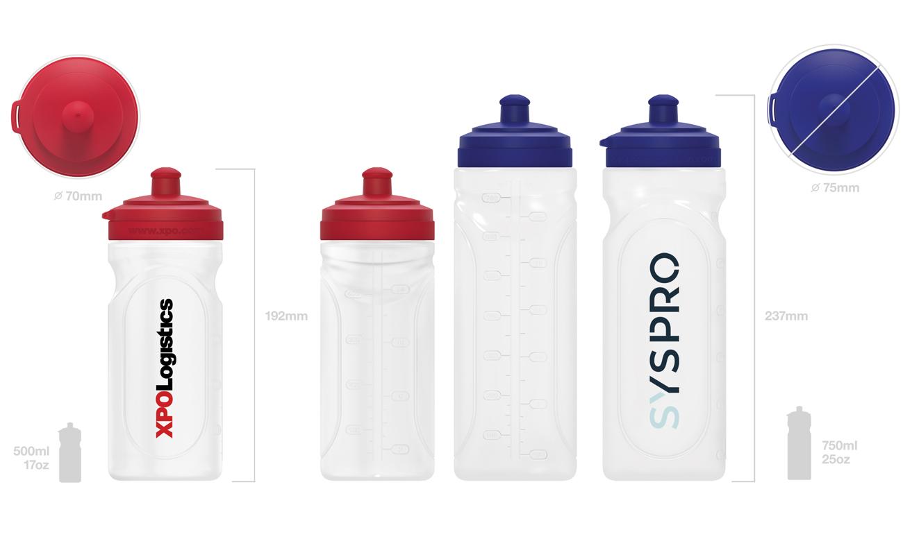 Refresh - Trinkflasche mit Logo